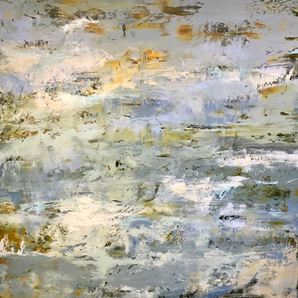 Cindy Walton, Off shore breeze, 30x30, oil and cold wax on panel, $2400